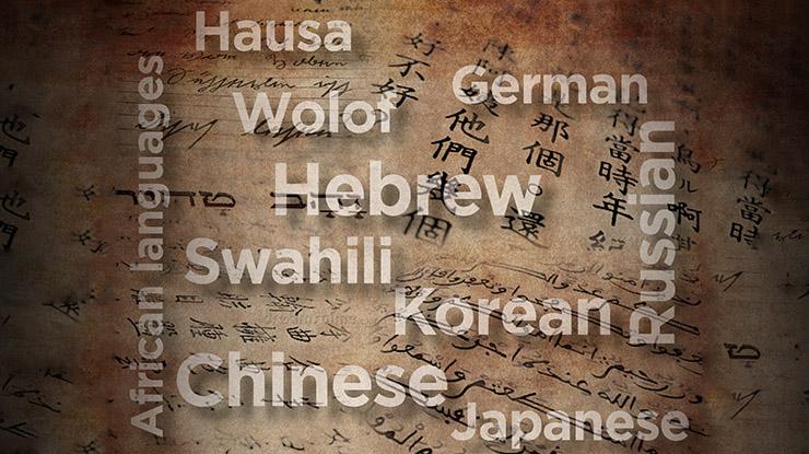 Linguistics collage cources