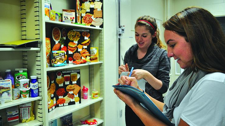 Dietetics subjects to study at university